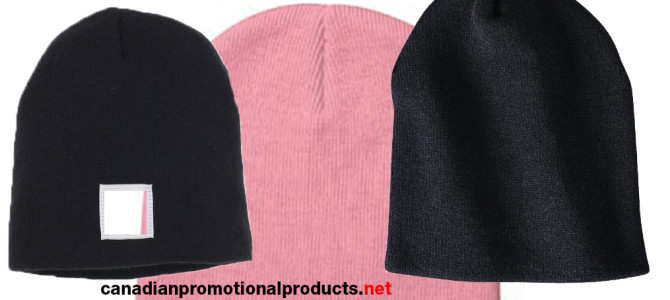 Acrylic Knit Beanie with your logo canada